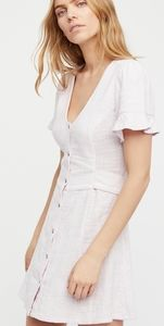 Free People Life is Sweeter Mini Dress